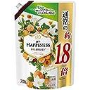 レノア ハピネス 柔軟剤 ナチュラルフレグランスシリーズ アプリコット ホワイトフローラルの香り 詰め替え 約1.8倍(700mL)