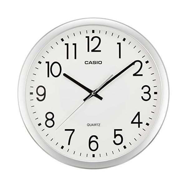 カシオ アナログ掛時計 スムース運針 IQ-77...の商品画像
