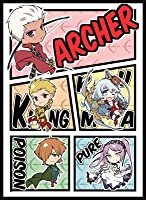 Cake Rabbits Fate/Grand Order 同人スリーブ ☆『SDアーチャーズ/illust:itota』★ 【コミックマーケット89/C89】