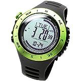 [ラドウェザー]ハイスペック腕時計 100m防水 アウトドア 登山 クライミング ハイキング キャンプ トレーニング スポーツ時計