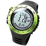 関連アイテム:[LAD WEATHER]アウトドア腕時計 高度/気圧/温度/天気 距離/速度/歩数/消費カロリー デジタルコンパス 登山/トレッキング スイス製センサー搭載