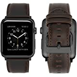 iBazal Apple Watch Series 3 Band Leather Band for Apple Watch Series 3/Series 2/Series 1/Sport/Edition