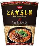 日清食品 日清のとんがらし麺 うま辛担々麺 71g×12個