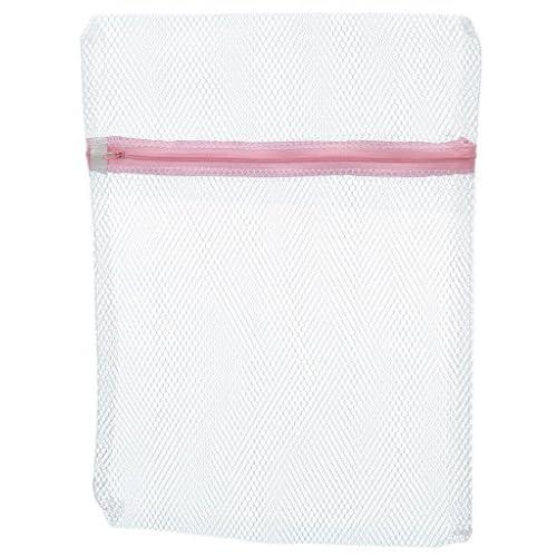 EOZY下着メッシュ入れ 折り畳み メッシュ カゴ 下着用メッシュ入れ ランドリーバッグ ネット カラー:ピンク ランドリー用 抗菌ビーズ 30*40cm