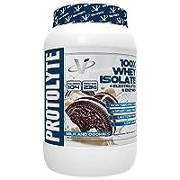 VMI Sports Protolyte 100% ホエイ 分離 プロテイン パウダー牛乳とクッキー 1.63Lb アミノ酸 電解質 酵素入り 高タンパク質 砂糖なし グルテンなし 乳糖なし クッキー とクリーム