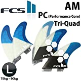 FCS2 フィン ( LARGE(75-90kg) , AM/Tri-Quad)
