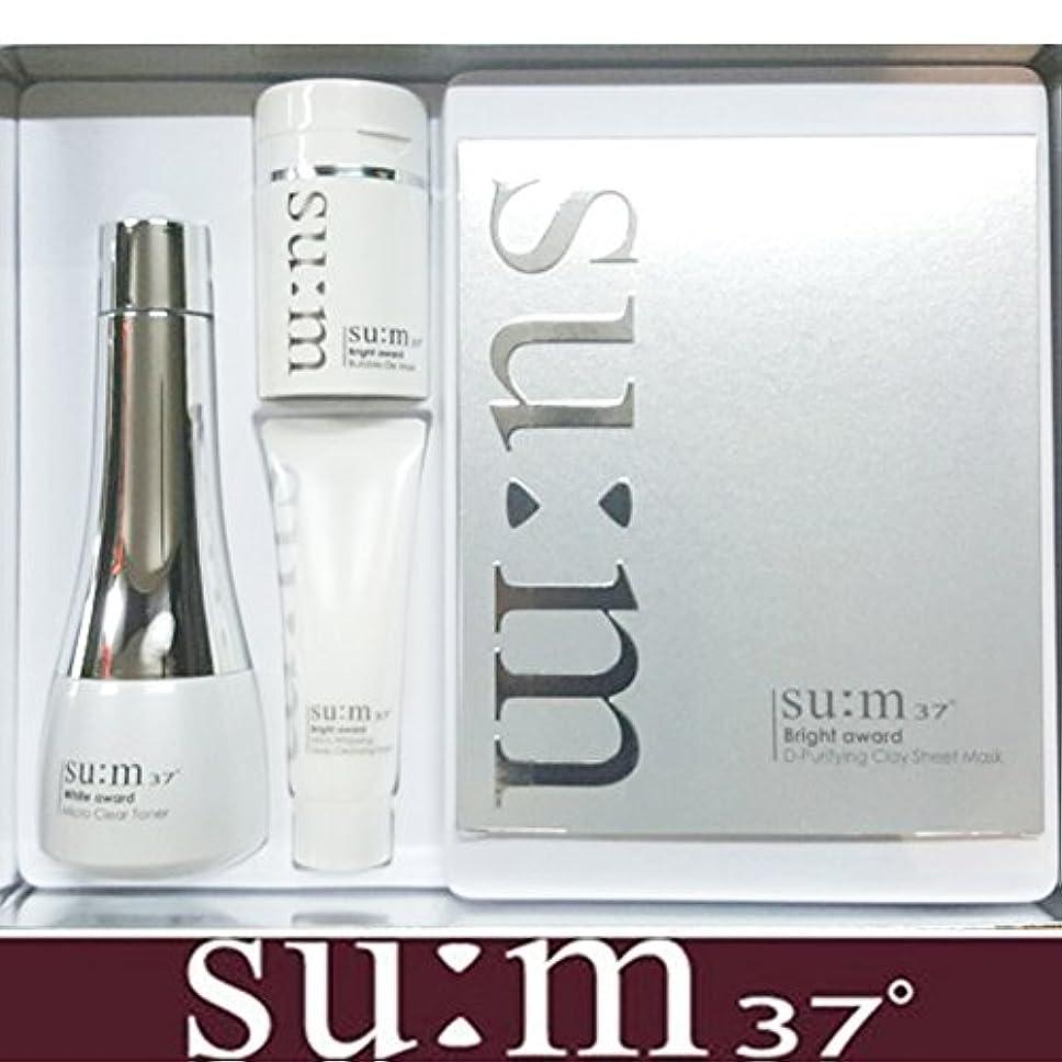 非効率的な一掃する遅れ[su:m37/スム37°] SUM37 White Awards Di clearing Skin Special Set/ホワイト アワード ディ クリアリン トナー スペシャル 特別セット +[Sample Gift...