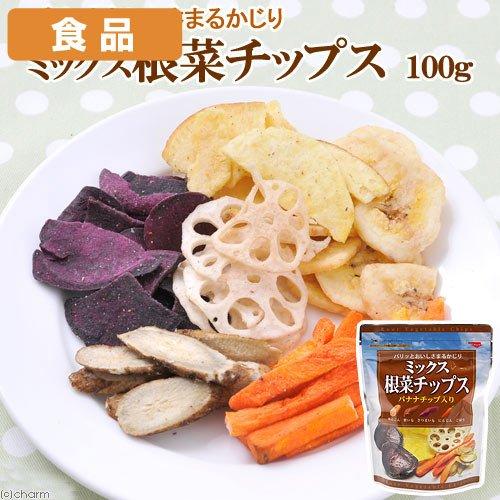 食品 ミックス根菜チップス 100g