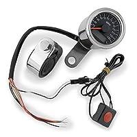 バイカーズチョイス Biker's Choice ミニ スピードメーター ブラック フェイス 482515 169363