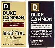 Duke Cannon Supply Co. - Big Ass Brick of Soap Variety Gift Set (2 Pack of 10 oz) Superior Grade Bar Soap Desi