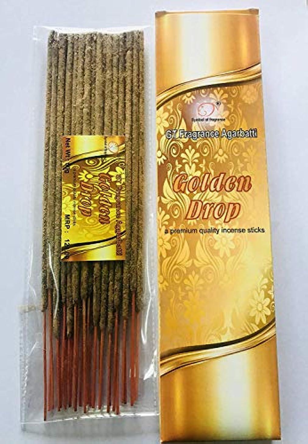 ダウン注入する発明Golden Drop. Bundle of 2 Packs, a Premium Quality Incense sticks-100g