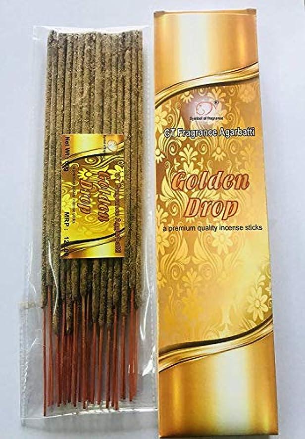 困惑家族ジャンプするGolden Drop. Bundle of 2 Packs, a Premium Quality Incense sticks-100g