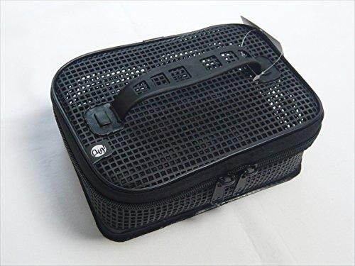 パズデザイン ウォッシャブルメッシュケース M・ブラック PAC-226
