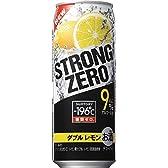サントリーチューハイ -196℃ ストロングゼロ《ダブルレモン》  【9%】 500ml×24缶(1ケース)