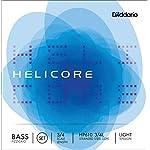 D'Addario ダダリオ ウッドベース(コントラバス) 弦 Helicore Pizzicato セット HP610 3/4L Light Tension 【国内正規品】