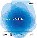 ウッドベース、コントラバス弦 ヘリコア ピッチカート ライト セット(G,D,A,E) HP610 3/4L