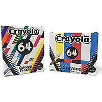 Crayola Special Edition Schoolバンドルと64 64の色鉛筆クレヨン