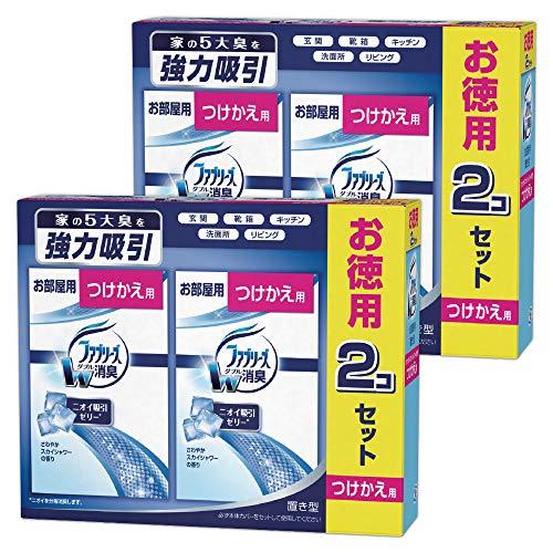 ファブリーズ 消臭剤 置き型 さわやかスカイシャワーの香り つけかえ用 130g×4個