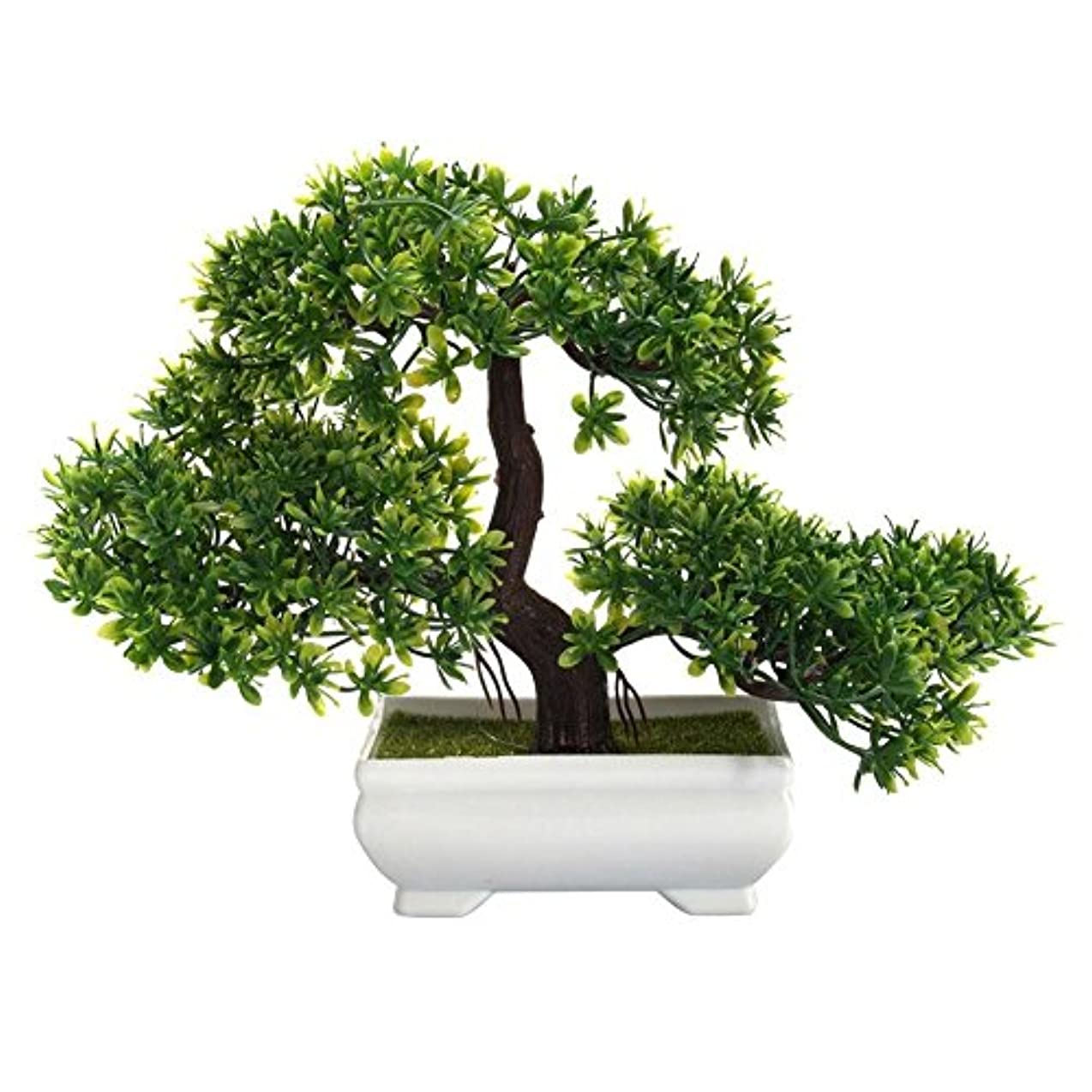 方法論異なる三Jicorzo - ミニクリエイティブ盆栽人工植物装飾オフィスホーム用はありませんじょうろ鉢植えを色あせません