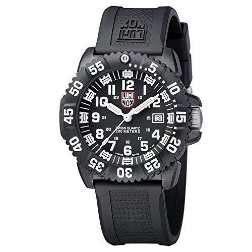 [ルミノックス]LUMINOX ネイビーシールズ 腕時計 ウォッチ ミリタリー 20気圧防水 ブラック メンズ [並行輸入品]