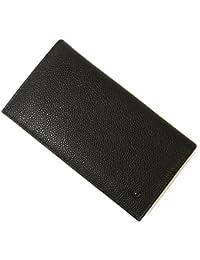 [アルマーニ]ARMANI 長財布 ジョルジオアルマーニ メンズ 二つ折 (ブラック) A-2574 [並行輸入品]