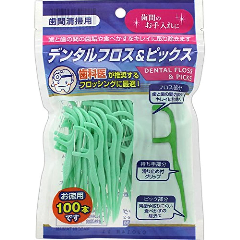 クライマックス蒸気ニッケルデンタルフロス&ピックス お徳用(100本)×3