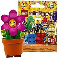 レゴ(LEGO) ミニフィギュアシリーズ 18 フラワーポットガール【未開封】| LEGO Collectable Minifigures Series 18 Flower Pot Girl 【71021-14】