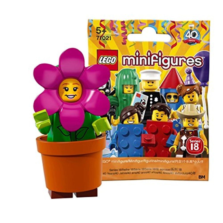 レゴ(LEGO) ミニフィギュアシリーズ 18 フラワーポットガール【未開封】  LEGO Collectable Minifigures Series 18 Flower Pot Girl 【71021-14】