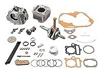 DAYTONA(デイトナ) NEWハイパーヘッドビッグボアキット(124.8ccツーリング) モンキー(12V)/ゴリラ(12V)/モンキーバハ 96805