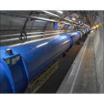 Photographic Print of LHC tunnel, CERN by Media Storehouse