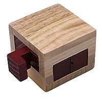 Edtoy木製マジックボックス教育玩具、パズルゲームおもちゃ子供用大人用