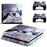 Hambur? Protective Vinyl Skin Decal Cover for Sony PlayStation 4 PS4 Console & Remote DualShock 4 Controller Sticker Skins ---..