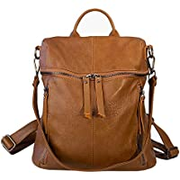 Kloye Mini Leather Backpack Purse for Women, Waterproof Shoulder Bag,PU Purse and Handbags for Girls