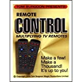 Remote Control Multiplying TV remotes by Tom Burgoon - Trick by Magic Supply Company