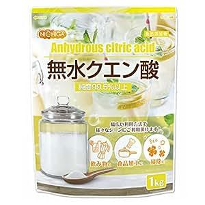 無水クエン酸 1kg 食品添加物規格(食品) 純度99.5% 以上 NICHIGA(ニチガ) [01]