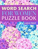 Word Search for Women Puzzle Book (Large Print): Book 1 [並行輸入品]