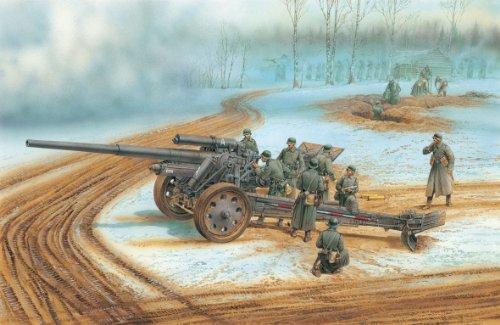 1/35 ドイツ 10cm sK 18 重野砲 (スマートキット)