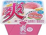 ロッテ 爽 ピチ★ピチPEACH (果肉入り)185ml×18個
