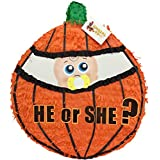彼または彼女は?ベビーin Pumpkin Gender Revealプル文字列ピニャータby apinata4u