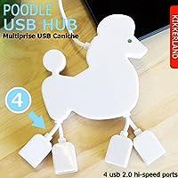 POODLE (プードル) USB HUB 4ポート
