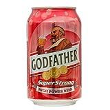 ゴッドファーザー スーパーストロング 330ml 24缶 【1ケース】 インドビール GOD FATHER SUPER STRONG India Beer 輸入ビール 輸入発泡酒