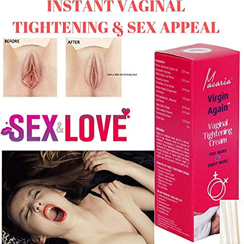 残酷なペルセウス意識的Vagina Tightening Gel Feel Young Again Intimate Cream