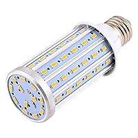 LED電球 E27 / E26 LED電球トウモロコシ電球13W同等の交換用130WハロゲンランプAC 85-265V 72LED 5730SMDアルミLEDライトポスト照明ガレージ倉庫ポーチ裏庭の庭など (サイズ : 暖かい白)