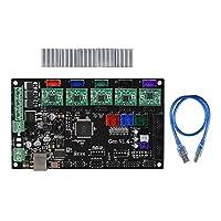 Aibecy Gen V1.4コントローラボード内蔵ランプ1.4とメガ2560マザーボード(5pcs緑色)A4988 3Dプリンタ用ステッパモータドライブ