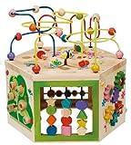 エバーアース 木製 ビーズコースター マルチプレイセット 7つの遊び 7in1
