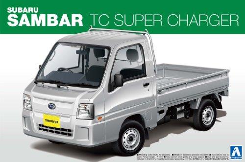 1/24ザ・ベストカーGTシリーズNo.80 '12 サンバートラック TCスーパーチャージャー