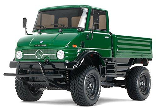1/10 電動RCカーシリーズ No.457 RCC メルセデス・ベンツ ウニモグ 406 (CC-01シャーシ) 58457