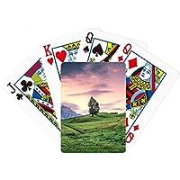 ピンクツリーGrass Sky Poker PlayingカードTabletopボードゲームギフト