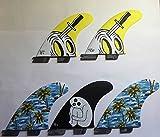 GORILLA FIN(ゴリラフィン)FCS2 プラグ フィン【SLOTH PALM SHANK TRI-QUAD FIN SET】 Lサイズ トライ&クアッド 5枚セット