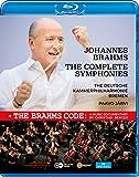 ブラームス : 交響曲全集 + ドキュメンタリー 「ザ・ブラームス・コード」 (Johannes Brahms : The Complete Symphonies + The Brahms Code : A Music Documentary by Christian Berger / The Deutsche Kammerphilharmonie Bremen | Paavo Jarvi) [Blu-ray] [Import] [日本語帯・解説付]